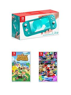 nintendo-switch-lite-console-with-animal-crossing-new-horizon-amp-mario-kart-8-deluxe