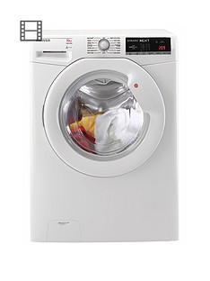 hoover-dynamic-next-dloa-4103-10kg-load-1400-spin-washing-machine-white