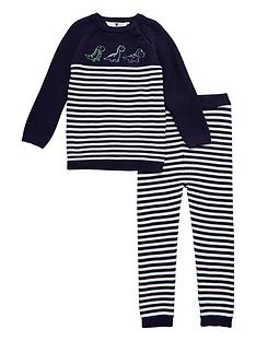 v-by-very-baby-boys-knitted-stripe-dinosour-set-navy
