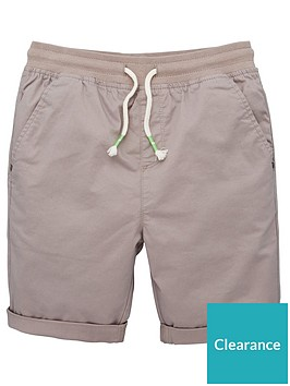 v-by-very-boys-jersey-waistband-short-grey