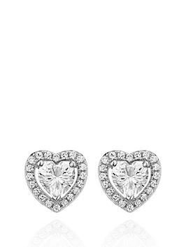 beaverbrooks-silver-cubic-zirconia-heart-earrings