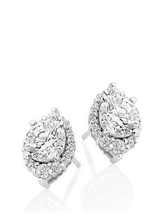 beaverbrooks-9ct-white-gold-cubic-zirconia-stud-earrings