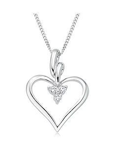 beaverbrooks-9ct-white-gold-diamond-heart-pendant