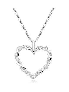 beaverbrooks-entwine-9ct-white-gold-diamond-heart-pendant