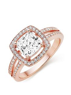 beaverbrooks-silver-rose-gold-plated-cubic-zirconia-cocktail-ring