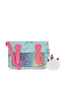 monsoon-girls-unicorn-split-satchel-multi
