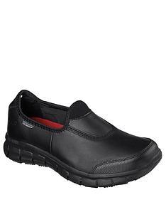 skechers-sure-track-workwear-slip-resistant-trainers-black