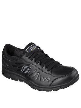 skechers-eldred-workwear-slip-resistant-trainers-black