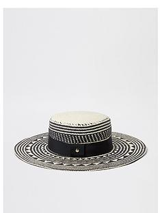 river-island-pattern-prairie-hat-black
