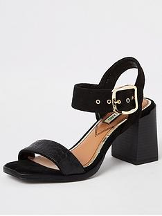 river-island-two-part-block-heel-sandal-black