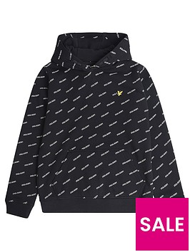 lyle-scott-boys-all-over-print-hoodie-black