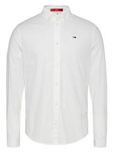 tommy-jeans-tjmnbspslim-stretch-fit-oxford-shirt-white