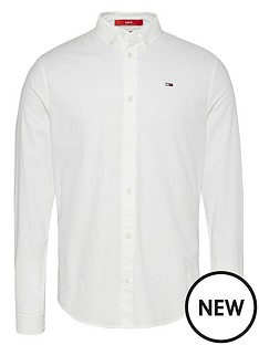 tommy-jeans-tjmnbspslim-stretch-fit-oxford-shirt-white