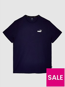 puma-puma-plus-size-essentials-small-logo-tee-navy