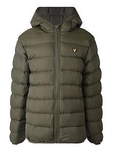 lyle-scott-boys-padded-hooded-jacket-khaki