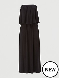 v-by-very-bandeau-jersey-midi-dress-black