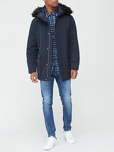 armani-exchange-parka-with-faux-fur-hood-navynbsp