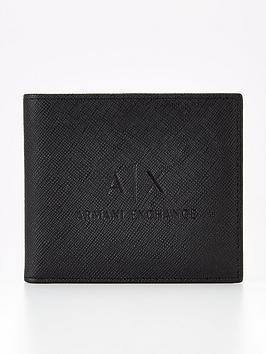 armani-exchange-faux-leather-billfold-wallet-blacknbsp