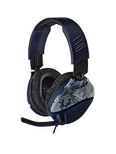 turtle-beach-recon-70-gaming-headset-for-nbspxbox-ps5nbspps4-switch-pc-camo-blue