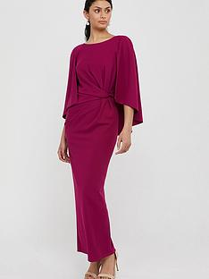 monsoon-cara-cape-maxi-dress-pink