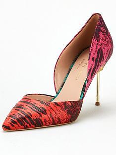 kurt-geiger-london-bond-90-heeled-shoe-red