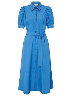 monsoon-harley-plain-shirt-dress-blue