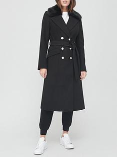v-by-very-long-military-coat-with-faux-fur-collar-black