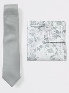 river-island-plain-tie-floral-handkerchief-set-mint