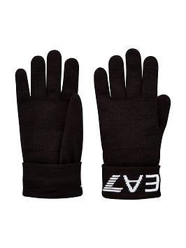 ea7-emporio-armani-train-visibility-logo-knitted-gloves-black