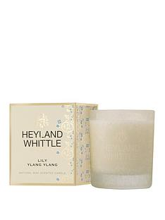 heyland-whittle-gold-classic-candle-lily-ylang-ylang