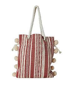joe-browns-gozo-pompom-bag-red