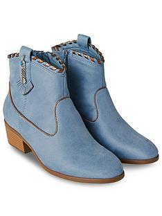 joe-browns-cherokee-ankle-boots-blue