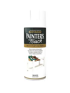 rust-oleum-painterrsquos-touch-white-satin-finish-multi-purpose-spray-paint-400ml