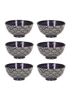 kitchencraft-mikasa-satori-living-gold-miso-serving-bowls-ndash-set-of-6
