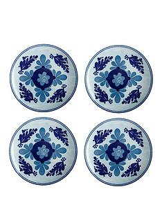 maxwell-williams-majolica-side-plates-ndash-set-of-4