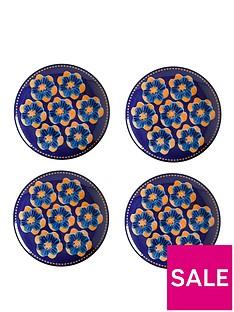 maxwell-williams-majolica-side-plates-set-of-4