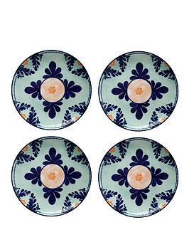 maxwell-williams-majolica-side-plates-ndash-set-of-4