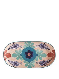maxwell-williams-maxwell-williams-majolica-medium-peach-oblong-platter