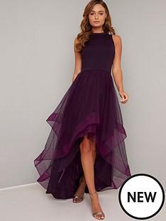 chi-chi-london-chi-chi-thais-layered-mesh-dress-berry