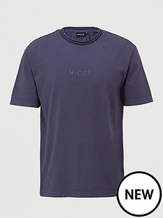 nicce-melrose-oversized-t-shirt-coal