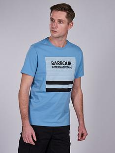 barbour-international-control-t-shirt-blue