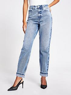 river-island-carrie-mom-jean-light-blue