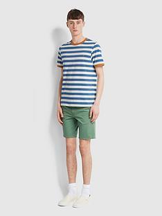 farah-stripe-contrast-ringer-t-shirt-blue