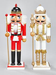 set-of-2-nutcracker-christmas-room-decorations-ndash-redwhite