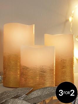 set-of-3-gold-led-candles