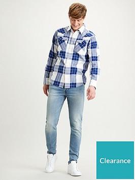 levis-western-shirt-blue