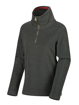 regatta-solenne-quarter-zip-fleece-khaki