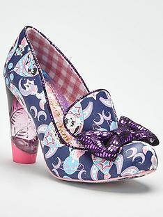 irregular-choice-oz-cat-print-bow-heeled-shoe-navy