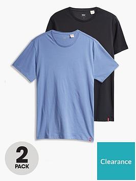levis-levis-2-pack-crew-neck-t-shirt-blackblue