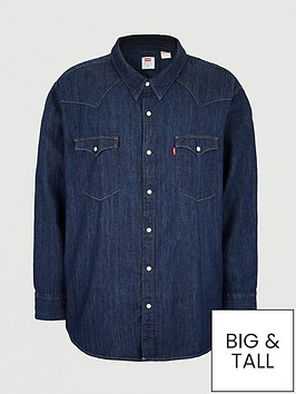 levis-big-tall-western-denim-shirt